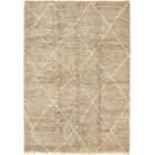One-of-a-Kind Lydd Hand-Knotted Wool Beige/Brown Area Rug