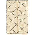 One-of-a-Kind Higham Hand-Knotted Wool Beige Area Rug