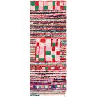 One-of-a-Kind Kingsbridge Hand-Knotted Cotton Pink/Green Area Rug