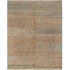 One-of-a-Kind Mart Hand-Knotted Wool Blue/Green Area Rug