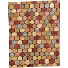 One-of-a-Kind Nash Hand-Knotted Wool Brown/Pink/Beige Area Rug