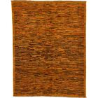 One-of-a-Kind Nash Hand-Knotted Wool Orange Area Rug