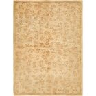 One-of-a-Kind Ollert Hand-Knotted Wool Silk Green/Brown Area Rug