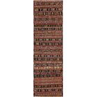 One-of-a-Kind Newlyn Hand-Knotted Wool Red/Brown Area Rug