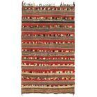 One-of-a-Kind Northallert Hand-Knotted Wool Red/Brown Area Rug