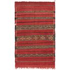 One-of-a-Kind Northampt Hand-Knotted Wool Red Area Rug