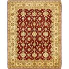 One-of-a-Kind Huntingdon Hand-Knotted Wool Red/Beige Area Rug