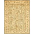 One-of-a-Kind Huntingdon Hand-Knotted Wool Beige Area Rug
