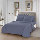 Clive 1000 Thread Count 100% Cotton Sheet Set Color: Blue, Size: Queen