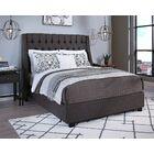 Difranco Upholstered Platform Bed Color: Gray, Size: King