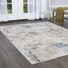 Hamm Gray/Blue Area Rug Rug Size: Rectangle 6'6