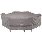 Soteria Water Resistant Patio Dining Set Cover Size: 32
