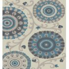 Chalmers Carousel Cream Area Rug Rug Size: Rectangle 7'10