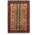 One-of-a-Kind Denver Hand-Knotted Wool Red/Yellow Area Rug