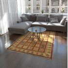 One-of-a-Kind Denver Hand-Knotted Wool Yellow Area Rug