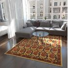 One-of-a-Kind Denver Hand-Knotted Wool Tan/Beige Area Rug