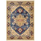 Rumsey Blue Area Rug Rug Size: Rectangle 7' x 10'