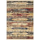 Rumsey Red/Yellow Area Rug Rug Size: Rectangle 7' x 10'