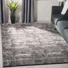 Fowler Black/Gray Area Rug Rug Size: Rectangle 8' x 10'