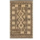 One-of-a-Kind Lorain Hand-Knotted Wool 3' x 5' Brown/Beige Area Rug