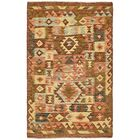 One-of-a-Kind Doorfield Hand-Knotted Wool 3'1