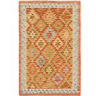 One-of-a-Kind Doorfield Hand-Knotted Wool 3' x 4'10