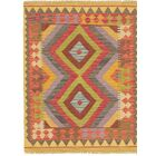 One-of-a-Kind Lorain Hand-Knotted Wool 3' x 4' Yellow/Brown Area Rug