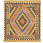 One-of-a-Kind Lorain Hand-Knotted Wool 3' x 3'4