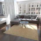 One-of-a-Kind Wareham Hand-Knotted Wool Brown/Beige Area Rug