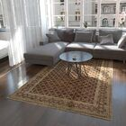 One-of-a-Kind Wareham Hand-Knotted Wool Beige/Brown Area Rug