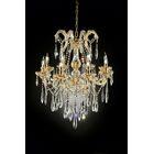 Washam 8-Light LED Crystal Chandelier