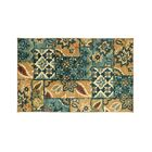 Shameka Floral Patterned Green/Yellow Indoor/Outdoor Area Rug Rug Size: Rectangle 7'6