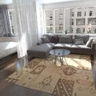 One-of-a-Kind Fareham Hand-Knotted Wool Beige/Brown Area Rug