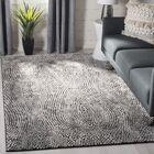 Kauffman Black/Light Gray Area Rug Rug Size: Rectangle 9' x 12'