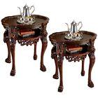Lord Raffles Lion Tea End Table