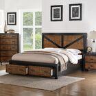 Waseca Storage Platform Bed Size: King