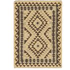 One-of-a-Kind Lorain Hand-Knotted 3' x 4' Wool Cream/Brown Area Rug