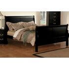 Swihart Panel Bed Size: Twin, Color: Black