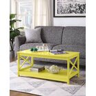 Stoneford Coffee Table Color: Yellow