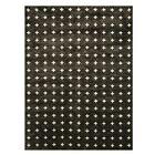 Eastleigh Black/Cream Indoor/Outdoor Area Rug Rug Size: Rectangle 8' x 10'