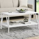 Avondale Coffee Table Color: White