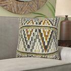 Lackey Geometric Cotton Pillow Size: 24