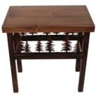 Nadia Bear/Feather End Table