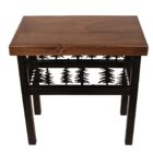 Bianca Deer/Feather End Table