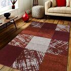 Swingle Red/Beige Area Rug Rug Size: Rectangle 8' x 10'