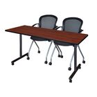 Marin Training Table Tabletop Finish: Cherry, Size: 29