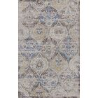 Surrency Blue/Light Gray Area Rug Rug Size: Rectangle 5'3