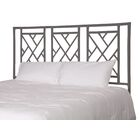 Olga Chippendale Open-Frame Headboard Color: Ash, Size: King