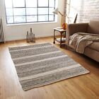 One-of-a-Kind Maliah Jagged Hand-Knotted 6' x 9' Ivory Area Rug