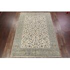 One-of-a-Kind Flor Kashan Persian Traditional Hand-Knotted 9'9